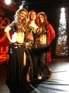 Victoria, me, and Moria