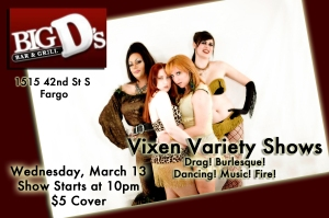 Vixen Variety Shows