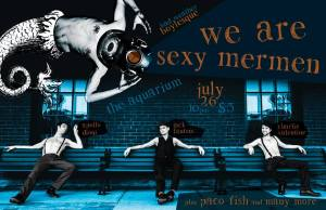 The Boys of Bad Weather Burlesque with Special Guest Paco Fish (poster courtesy Bender !Flames!)