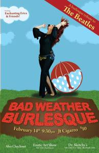 Bad Weather Burlesque Tribute to the Beatles!
